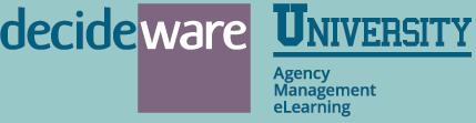 Decideware University logo